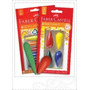 Crayon Faber Castell Kinder Cohete X 6 O Trompo X 4 Anatomic