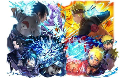 Naruto Posters Alta Definicion X 5 Unid. 33x47 Cm