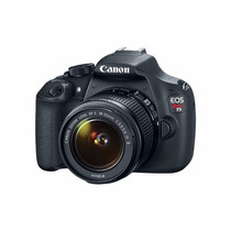 Camara Digital Canon Semi Profesional Eos Rebel T5 Kit 18-55