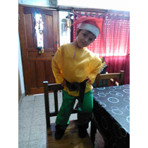 Disfraz De Enanito Duende Para Niños De 3 A 5 Años