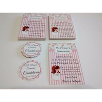 Estampitas + Libro Firma + Tarjeta Souvenir De Virgencita