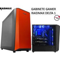 Gabinete Gamer Raidmax Delta 1 1x Fan Cooler Pc Atx