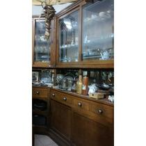 Mueble Vitrina De Farmacia Antiguo