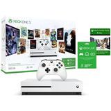 Xbox One S Microsoft 1tb + Game Pass 3 Meses Oferta