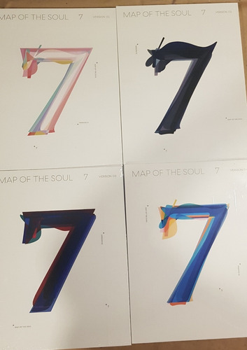 Preventa Map Of The Soul 7 Cd Nuevo Importado (4 Versiones)