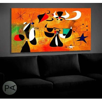 Cuadros Decorativos: Klimt, Kandinsky, Miro Etc. En Bastidor