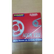 Kit De Transmision Nxr 125 Bros Xr 125 L Honda Hamp