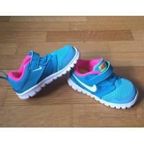 Zapatillas Nike Para Nenas. Talle 23,5 (7c Us) Miden 13 Cm