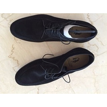 Zapatos Hombre Gamuza Negro Hush Puppies 41 A Estrenar Sale