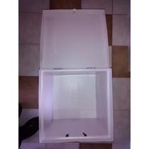 Caja Delivery Moto Plastico Reforzado Calidad Blanca