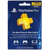 Ps Plus 12 Meses Ps4   Playstation Plus 1 Año Oferta!!