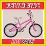 Bicicleta Infantil Cross Kelinbike Rodado 16 Rosa