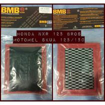 Filtro Aire Bmb Competicion Honda Nxr 125 Bros- Skua 125/150
