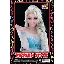 Peluca Elsa Frozen Anna Elsa Campanita Tinkerbell Disfraz