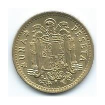 Moneda De España 1 Peseta 1975 (79) Sin Circular