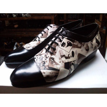 Zapatos Artesanales De Baile: Tango Salsa Calle Etc