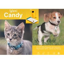 Weki Candy Mascotas Rastreador Gps Portátil Monitoreo