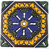 Mayolica Con Relieve 15x15cm Patio Español  Soy Fabricante
