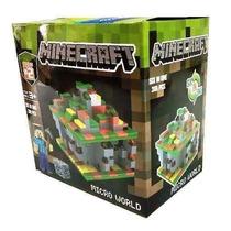 Minecraft Micro World 6 En Uno 318 Piezas La Lucila