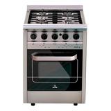 Cocina Morelli Country Forza 550 4 Hornallas  A Gas/eléctrica Acero Inoxidable 220v Puerta Visor