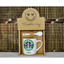 Taza Starbucks Pocillo Cafe Caja Regalo Cuchara Ceramica
