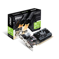 Msi Geforce Gt710 1gb Ddr5 Gt 710 Low Profile Hdmi Cooler