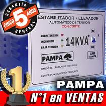 Elevador Automático De Tensión 14 Kva Pampa Estabilizador
