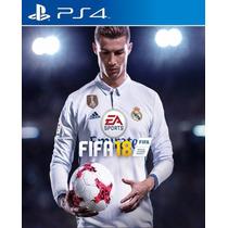 Fifa 18 Ea Sports Fifa 2018 Juego Playstation 4 Ps4 Stock