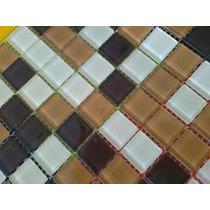 Malla De Vidrio Revestimiento Venecitas 30x30 Vidro Real