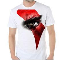 Remera Diseños Exclusivos! Estampada Sublimada God Of War