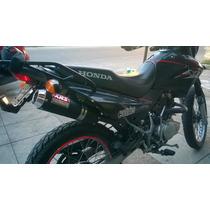 Escape Deportivo Xrs - Honda Xr 125 Y Honda Bross