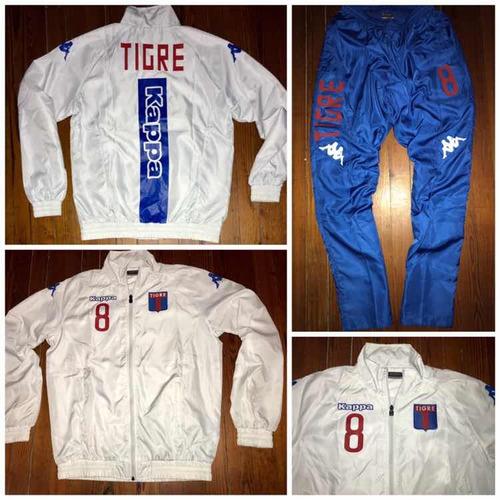 40dec8363b818 Conjunto Tigre Kappa Campera Talle L Tamb Joma Lecoq adidas