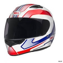 Casco Bell Pista Qualifier Red-blue Talle Xl Cascos