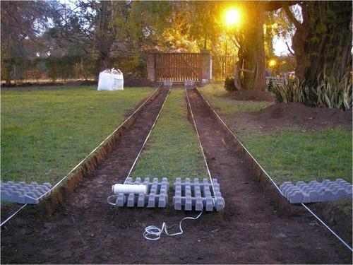 Bloques de cemento para c sped gardenbloc lajas y - Bloques para cesped ...
