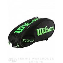 Raquetero Tenis Wilson Burn X9 Raquetas / Tour X6 Termico