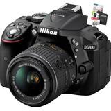Nikon D5300 Kit 18-55vr Wifi  Memoria En Stock !!!