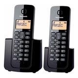 Teléfono Inalámbrico Panasonic Kx-tgb112 Duo Dect Caller Id