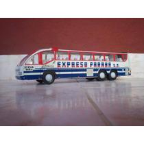 Antiguo Colectivo Micro Omnibus Bus De Lata Biagiotti Exp Pa
