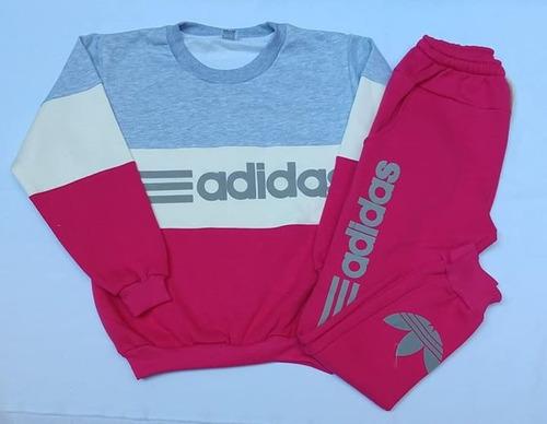 5596a8116e181b Conjuntos Frizados Tricolor adidas - Talles 12 Y 14 en venta en ...