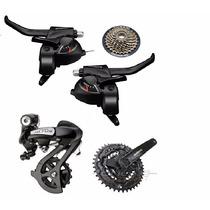 Kit Shimano De 7 21 V Cambio Altus Y Piñon C/prot Trp Bikes!