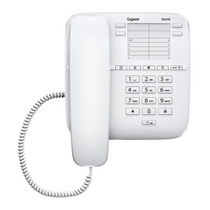 Telefono Fijo Gigaset Da310 De Mesa Pared Redial Flash Mute