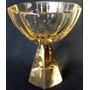 Copa Antigua De Cristal De Murano Art Deco. 53003
