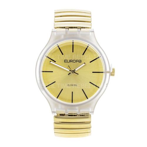 7e21aaa6f20d Reloj Europa By Diesel Mujer 4500 122 Wr 50 Malla Extensible