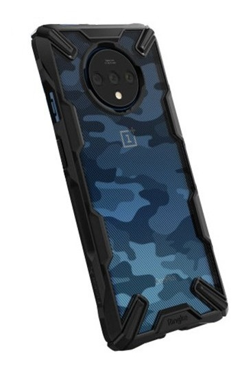 FUNDA RINGKE FUSION X ONEPLUS 7T CAMO BLACK