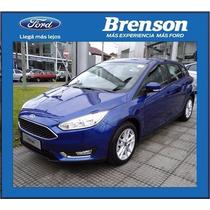 Nuevo Ford Focus Iii 1.6 S 5 Puertas 2016 Entrega Ya (c)