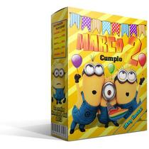 Cajita Golosinera Personalizada A Tu Gusto Pack X 10