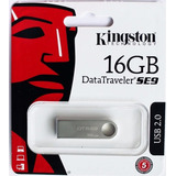 Pendrive Kingston 16gb Se9 Metátilco Usb 2.0 Ideal Llavero