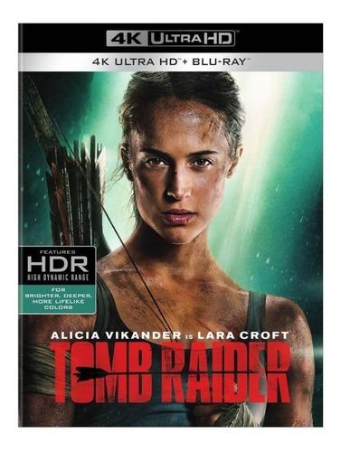 Tomb Raider 4k 2 Blu Ray Nuevo En Stock Importado