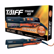 Plancha Taiff Titanium Colores 450 Ion Ideal Para Alisado