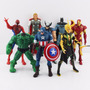 Muñecos Super Heroes Avengers Iron Man Hulk Hombre Araña